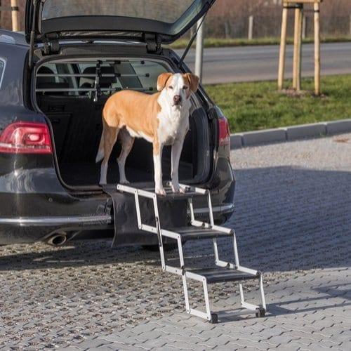 Trixie Sammenleggbar Trapp for Hund og Katt 37 x 57 x 120cm
