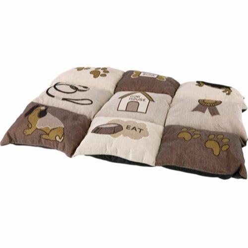 Trixie lappeteppe brun/lysbrun 55x40cm