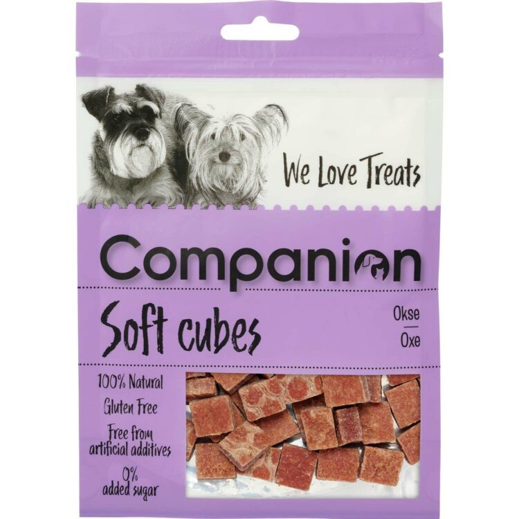 Companion soft snacks hundegodbiter