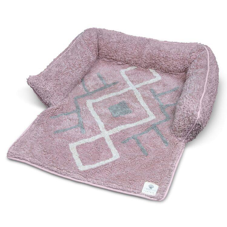 Sofa seng Bobo rosa