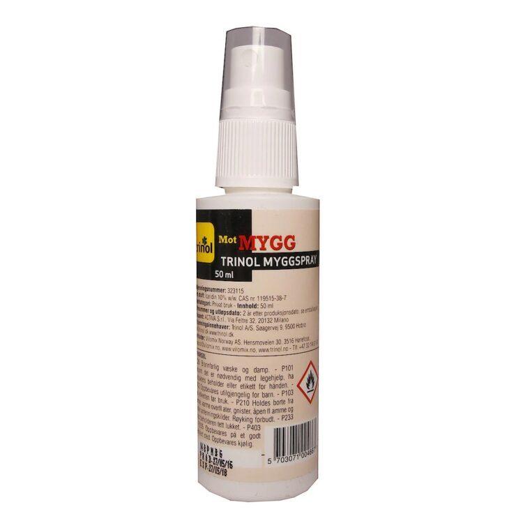 Trinol myggspray. 50 ml