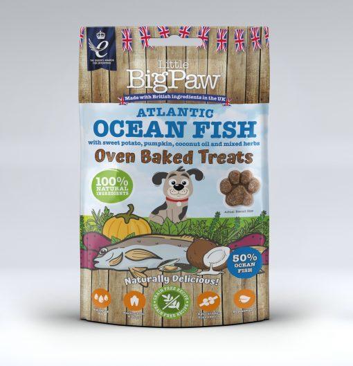Little Big Paw Fish treats godbiter