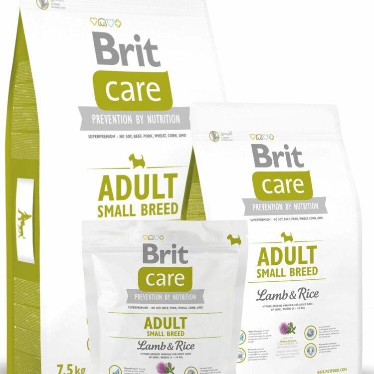 Brit Care lam og ris, voksen små raser hos Tropehagen
