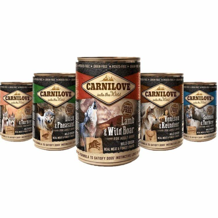 Carnilove Canned / Carnilove våtfòr hos Tropehagen