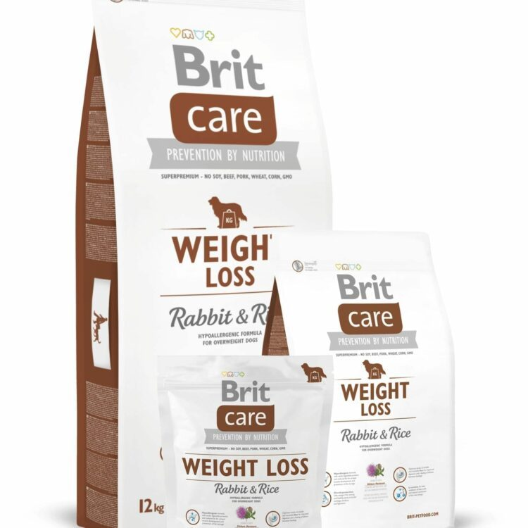 Brit Care Weight Loss Kanin & Ris