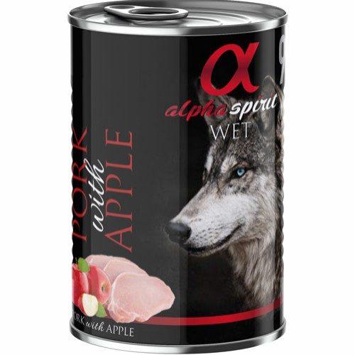 Alpha Spirit grisekjøtt med eple-monoprotein
