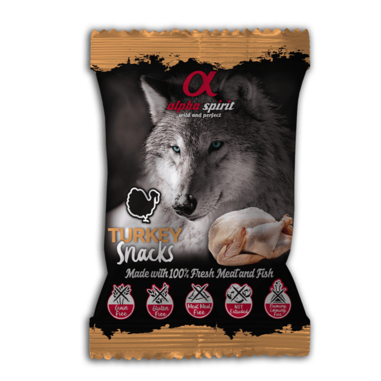 AlphaSpirit kalkun hundesnacks