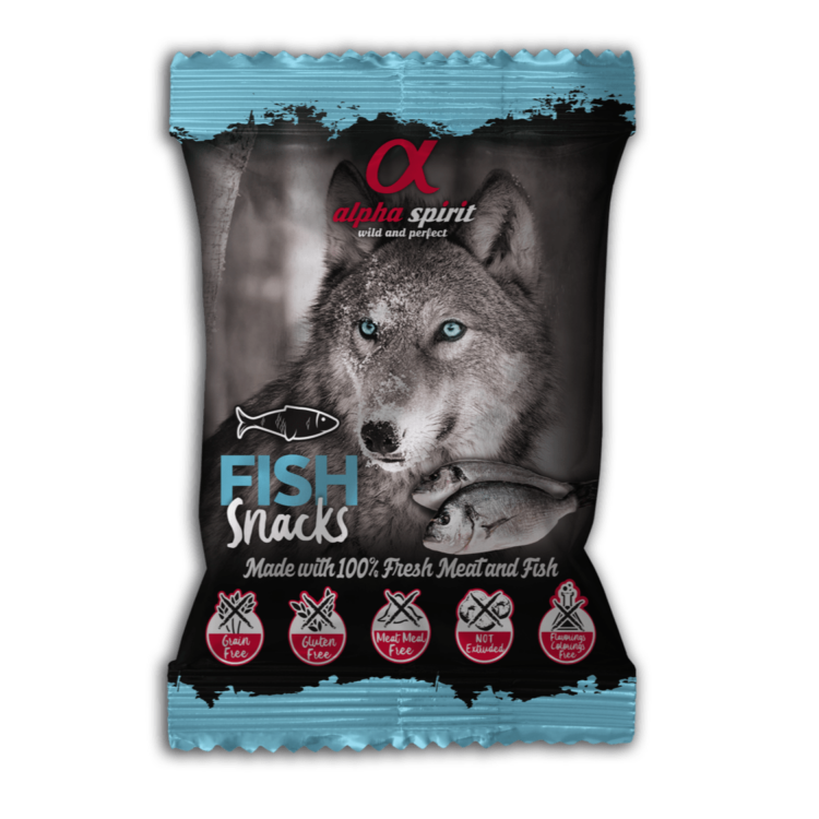 AlphaSpirit fisk hundesnacks