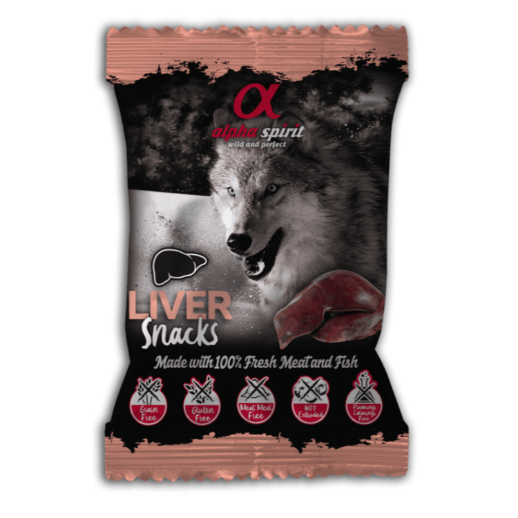 AlphaSpirit lever hundesnacks