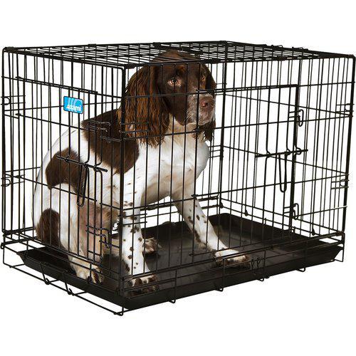 Stålbur hund sammenleggbart