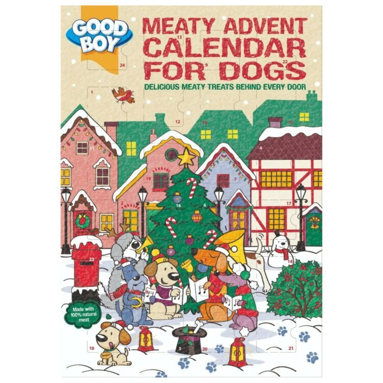 Good Boy Real Meat Dog Advent Calender