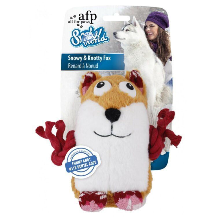 Hundeleke Snowy og Knotty Fox