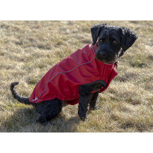 Go Fresh vendbar regnjakke til hund